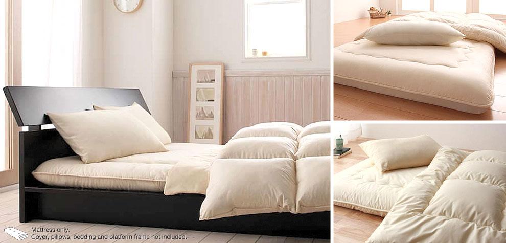 shiki futon matelas japonais. Black Bedroom Furniture Sets. Home Design Ideas